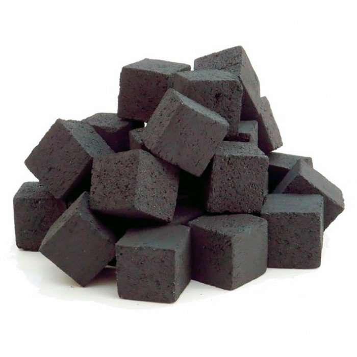 Кокосовый уголь на Пангане